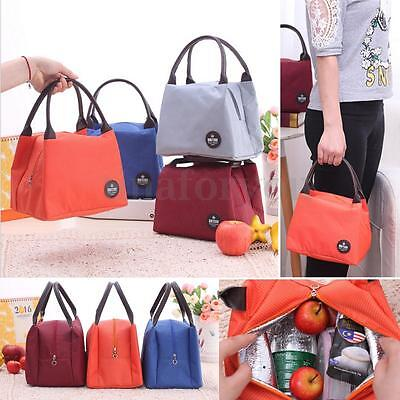 Thermal Insulated Cooler Travel Picnic Lunch Bag Women Kids Handbag Carry Tote