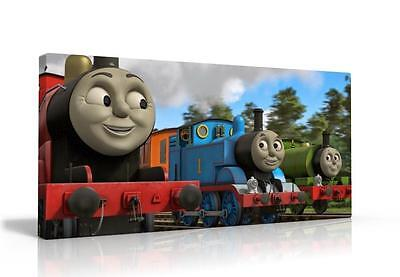 Single Canvas Picture Wall Art Thomas The Tank Free P&p New  Available 2 Designs