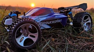 RC 2,4 Ghz Sport Buggy RAPID POWERSPORT PRO 4WD Allrad Monster Truck Auto