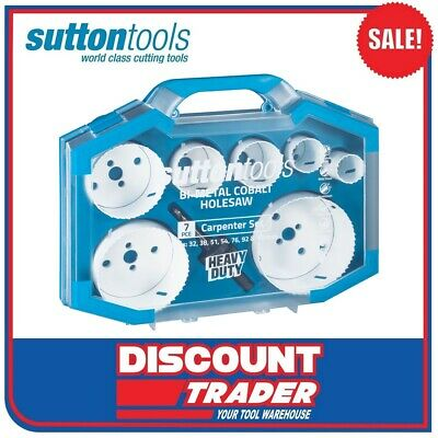 Sutton H114 Viper HSS Bi-Metal Holesaw Carpenter Set - H114S3
