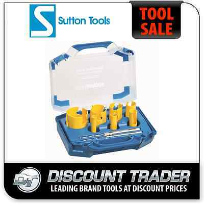 Sutton 9 Piece Electrician's Multi-Purpose Hole Saw Kit TCT H111 - H111009E