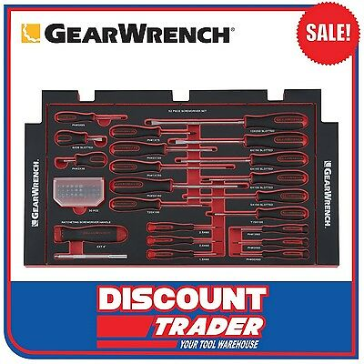 GearWrench EVA 52 Piece Screwdriver Set - 83073