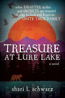 Treasure at Lure Lake by S.L. Schwarz (English) Paperback Book Free Shipping!