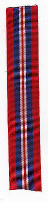 WWII WAR MEDAL RIBBON ,6inch LENGTH SEE SCAN