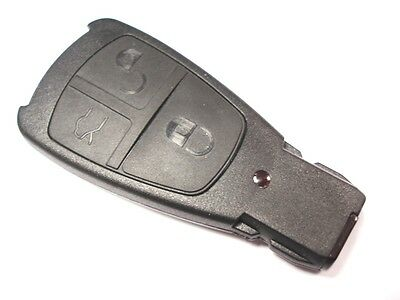 Replacement 3 button shell case for Mercedes C E S ML CLK CL SL remote key fob