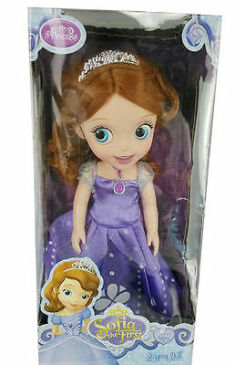 New 1Pcs Princess Sofia The First Childern Doll Toy Cartoon With Packing Gifts