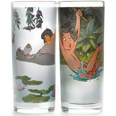 Jungle Book - Mowgli And Baloo Glass Tumbler Set - New & Official Disney In Pack