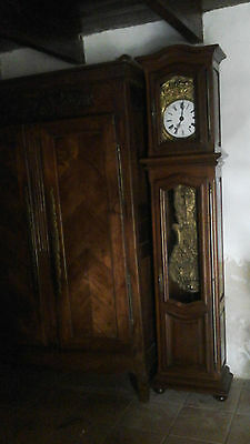 Vintage Mid 20Th C French Longcase Clock By Besse Of Dijon.working Order.