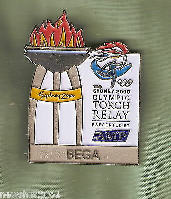 Bega 2000 Olympic Amp Torch Relay Pin
