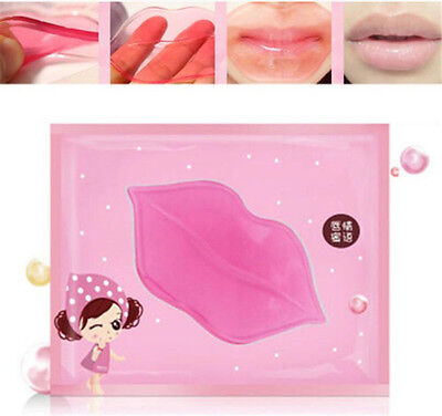 FD3852 Crystal Collagen Lip Mask Moisture Essence Anti Ageing Wrinkle Patch ☆