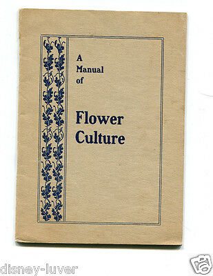 Vintage Garden Catalog FAIRVIEW FLORAL CO  Beatty OH MANUAL OF FLOWER CULTURE