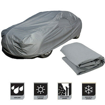 Universal Large Size M Full Car Cover UV Protection Waterproof Breathable LE