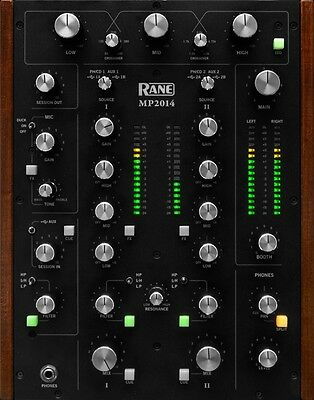 Rane MP2014 MP 2014 2 Channel Rotary DJ Mixer NEW