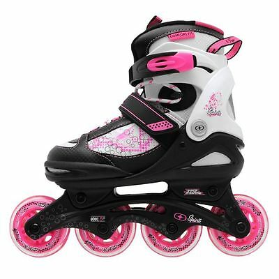 No Fear Kids Children Girls Spirit Inline Skates Roller Blades Sports