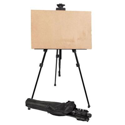 Artist Aluminium Alloy Folding Painting Easel Adjustable Tripod + Carry Bag US