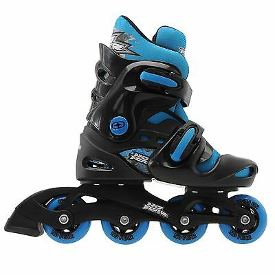 No Fear Kids Inline Skate Juniors Boys Children Roller Skates