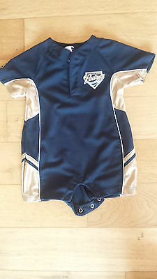 San Diego Padres Official Majestic Baby Grower 0-6 Months