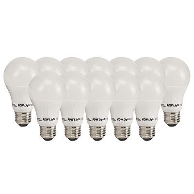 New 60 Watt Equivalent SlimStyle A19 LED Light Bulb Soft White 3000K 12 Pack 60W