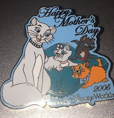Disney Pin Aristocats Happy Mothers Day 2005 Marie Duchess Berlioz Toulouse Le