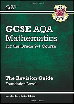 New GCSE Maths AQA Revision Guide: Foundation - For the Grade 9-1 Course Online