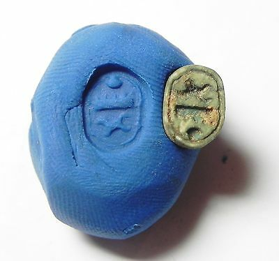 Zurqieh -52S- Ancient Egypt, New Kingdom. Tuthmosis Iii . Stone Scarab 1400 B.c