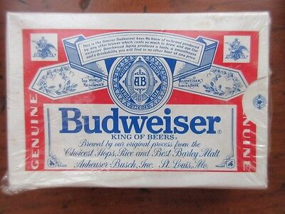 Vintage Budweiser Playing Cards! Sealed! Free Shipping!