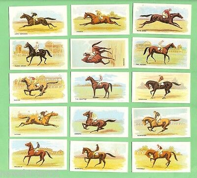 #jj. 1992 Authorised Reproduction Of 1906 Melbourne Cup Winners Cigarette  Cards