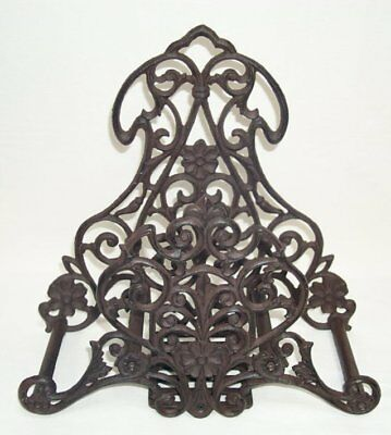 G255: Rustic Tube Holder, Cast Iron, Garden Hose Wall Mount