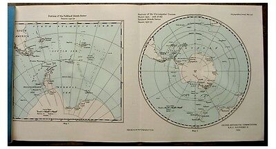 1934 RRS Discovery II  FIRST WINTER CIRCUMNAVIGATION OF ANTARCTICA  Color Map  5
