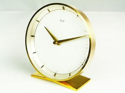 Later Art Deco Design Desk Clock From Kienzle Electric  Germany