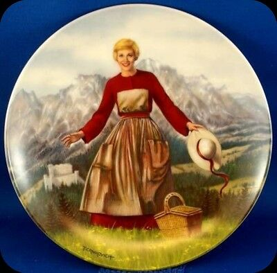 T. Crnkovich Sound of Music Collector Plate