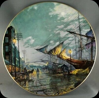 John Stobart Sailing with the Tide Royal Doulton Ship Collector Plate 15000