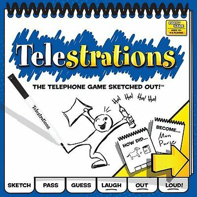 Telestrations 8 Player - The Original by USAopoly