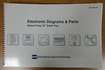 International Game Technology Electronic Diagrams & Parts Game King Manual