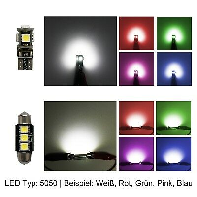 Kia Ceed pro LED Innenraumbeleuchtung  Set weiss Can-Bus Lampen 5050 SMD 6000 Ke