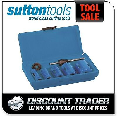 Sutton Electrician's Bi-Metal Cobalt Heavy Duty Holesaw Set - H105S8