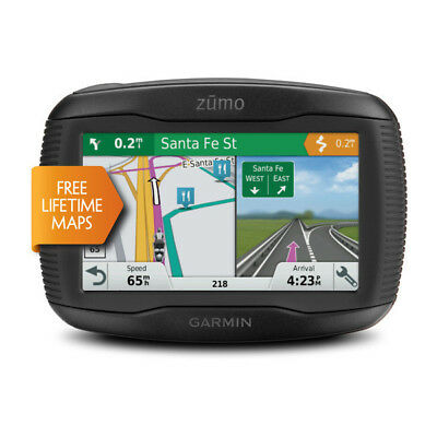 Garmin zumo 595LM Motorcycle Navigation System with Touchscreen and Bluetooth