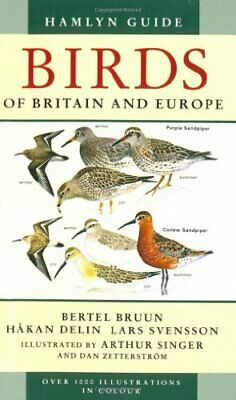Hamlyn Guide Birds of Britain and Europe by Lars Svensson Paperback Book The