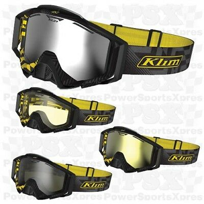 Klim Radius Pro Threat Snowmobile Goggles