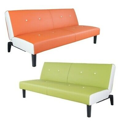 NEG Schlafsofa HELIOS Leder-Sofa/Schlafcouch/Klappsofa/Gäste-Liege/Couch Sessel