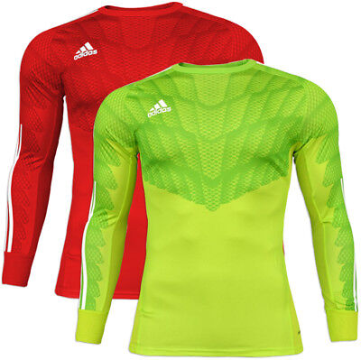 Adidas Junior Boy's Professional Adizero Goalkeeper Football Jersey Shirt Top