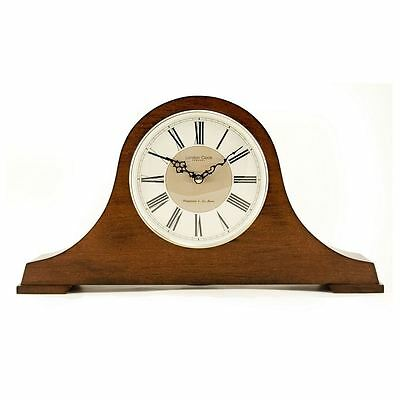 London Clock Co Napoleon Shape Mantle Clock with Chime