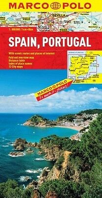 Marco Polo Map Spain / Portugal - Various Map Artist (Paperback) New
