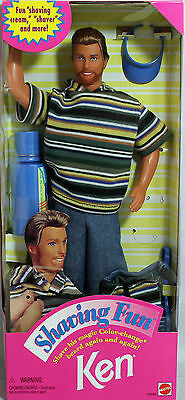 Shaving Fun Ken Doll 1994, MIB NRFB - 12956