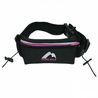 More Mile Waist Pouch Running Belt Bumbags Cycling Jogging Sports Zipped