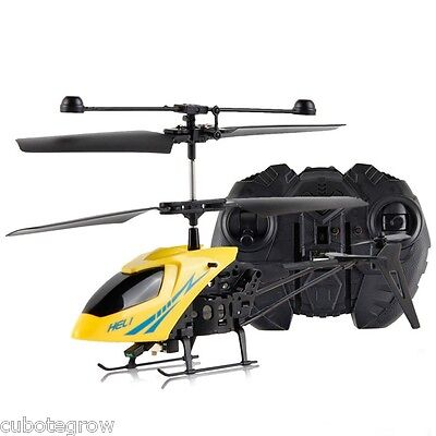 NEW Mini 2.5CH Remote Control RC Helicopter Aircraft 901 Radio LED Kids Toy Gift