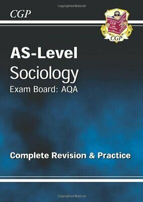 AS-Level Sociology AQA Complete Revision & Practice fo... by CGP Books Paperback