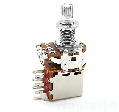 Push Pull Pot B500k Guitar Tone Control Potentiometer Coil Tap Switch