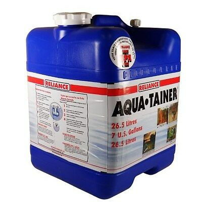 Portable Water Storage Container Cooler & Spigot Nozzle with on/off Tap Jag