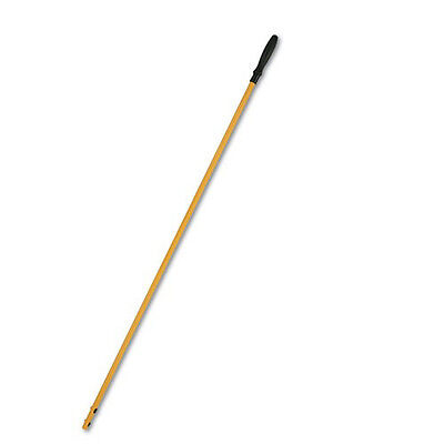 """Rubbermaid HYGEN 58"""" Quick-Connect Aluminum Mop Handle (Yellow) Q750YW NEW"""